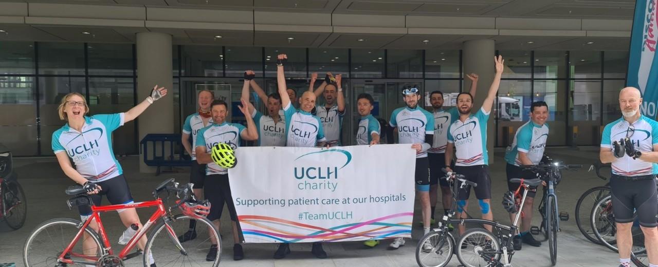 MCR to LDN cycle challenge finish June 2021