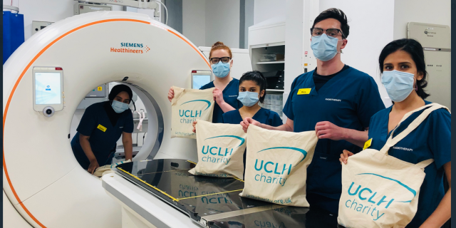 Radiotherapy with tote bags summer 2020