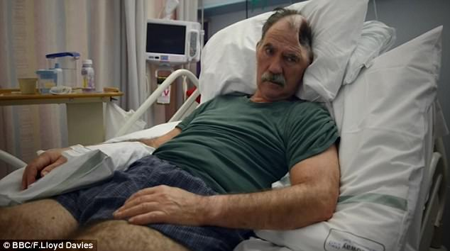 A documentary followed Richard Gray from the early aftermath of a stroke at the NHNN.